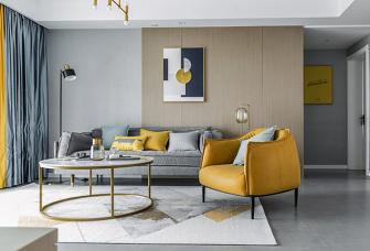 现代风格三居室,暗中涌动的点点碎色