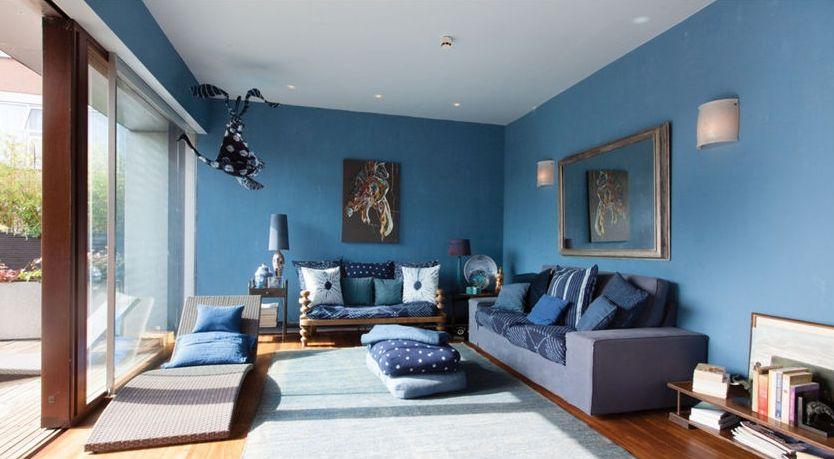 藍色彩度風格居室10
