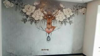 壁纸壁画壁布施工,欢迎来电_2