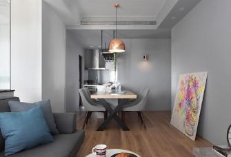 灰色,白色,原木色,安逸與品質并存。