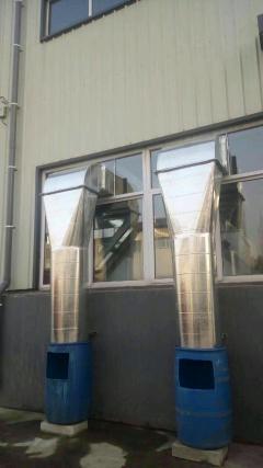 通风管道加工安装维修厨房排风不锈钢排烟罩
