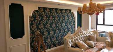 壁纸壁画壁布施工,欢迎来电_1
