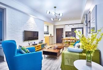 140平米地中海风格打造有格调的家
