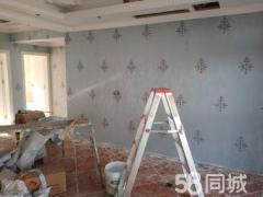 上海安居乐墙纸墙布施工