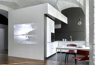 另类怀旧风格的70平米公寓设计