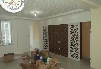 建筑面积142平简欧式风格三室两厅