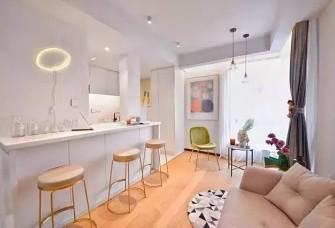 41㎡小户型旧房改造 小空间也要有格调