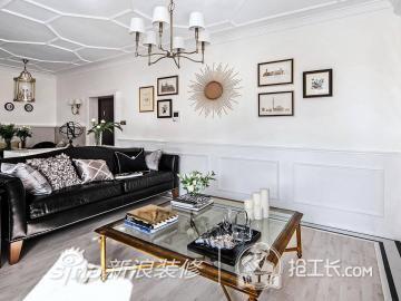98平欧式二居,舒适客厅21