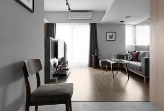 110平米三居室現代風格