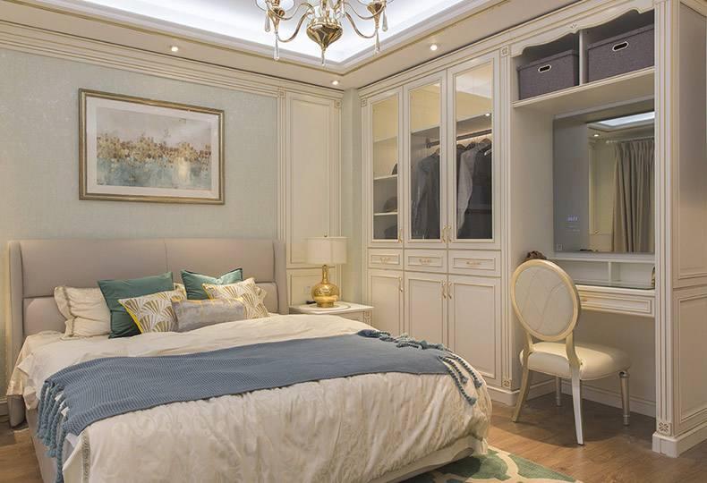清爽簡潔臥室40