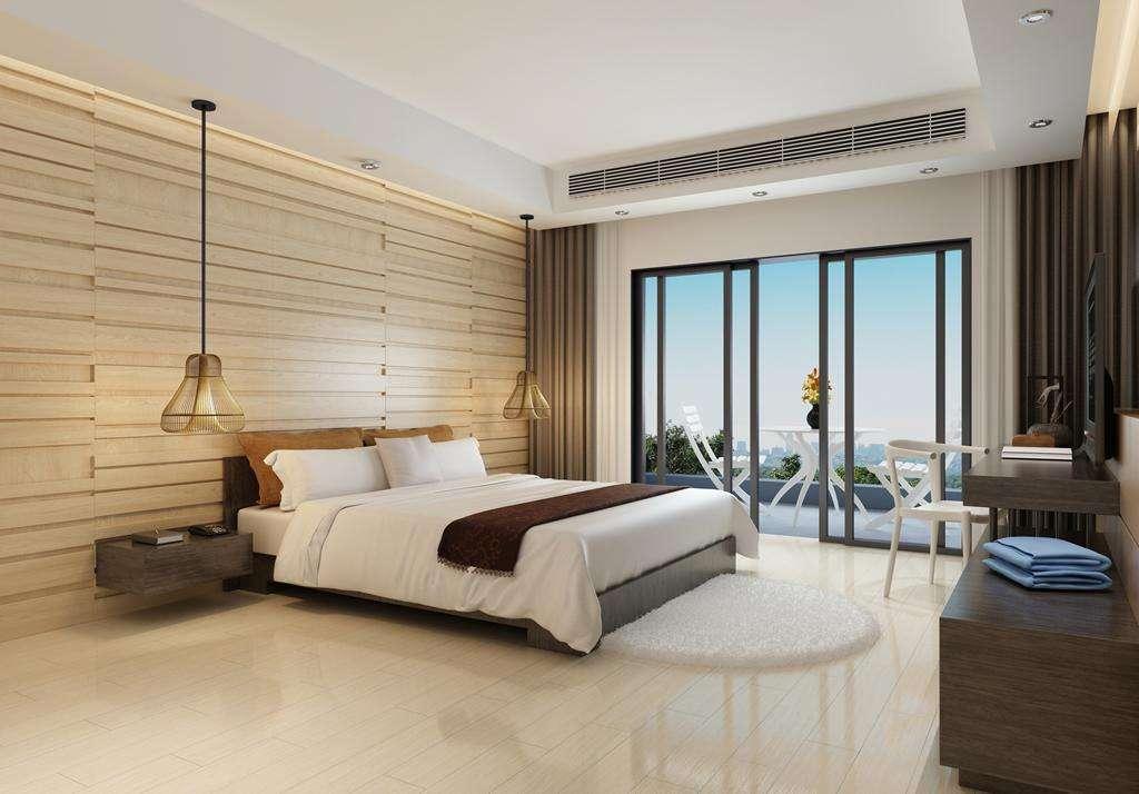 99平現代簡約一居臥室25