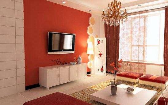 红色靓丽居室48
