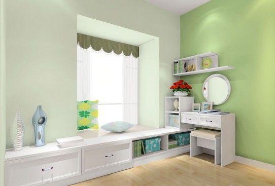 大氣的臥室飄窗設計增強收納功能93