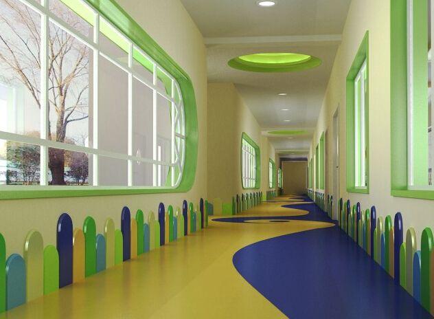 45平幼儿园教师办公室完工22