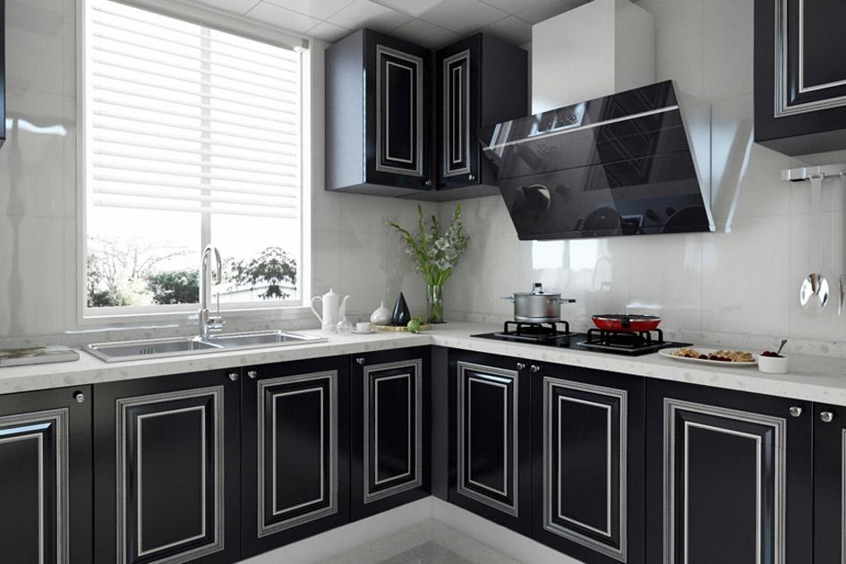 简约风格的厨房7
