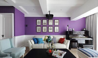120方紫色魅力四居室82