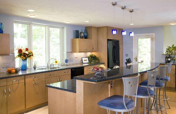 开放式厨房与吧台的完美结合81