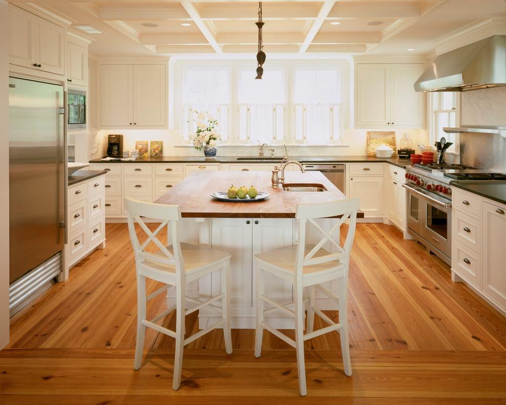 开放式厨房与吧台的完美结合95