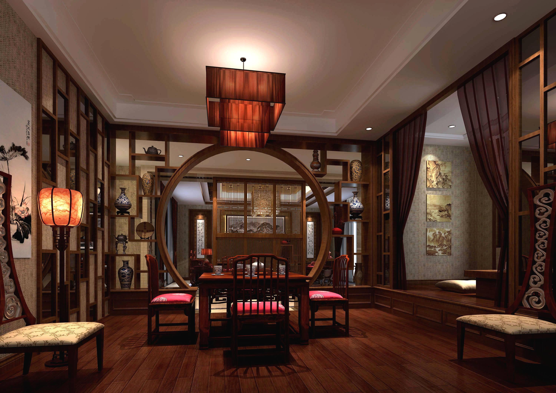 紅泰小區高貴典雅的中式古典三居室