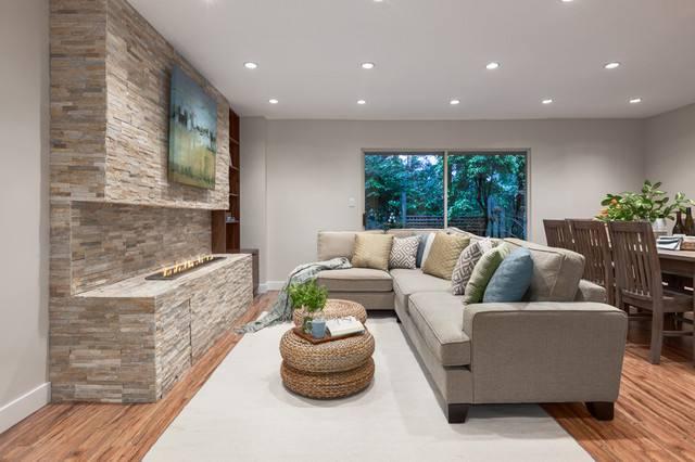 有格调的沙发背景墙