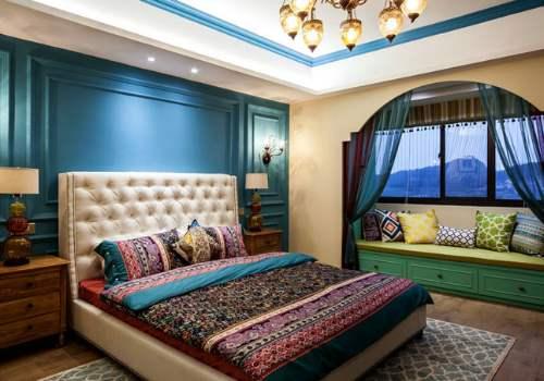 大氣的臥室飄窗設計增強收納功能46