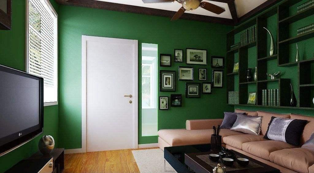 墨綠色美式復古風
