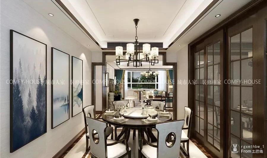 【新中式風格】135平三室兩廳,優雅如畫,靜逸脫俗!_2