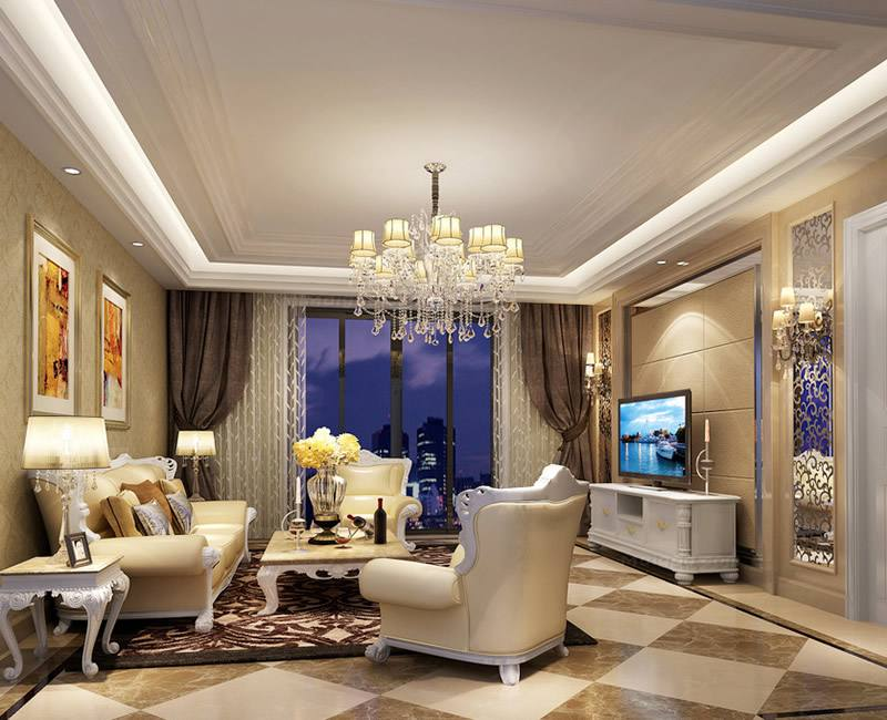 李金龙中海国际两室装修案例16