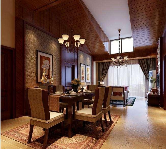 东南亚风情三居室 享受异域情调4