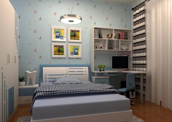 空間合理利用的兒童房40