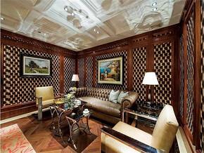 現代古典風格客廳裝修效果圖