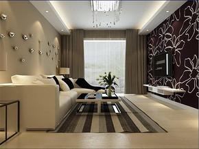 現代簡約超小客廳裝修效果圖