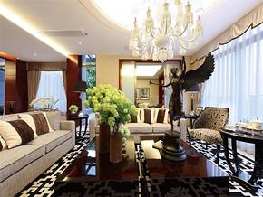 現代風格小戶型客廳顏色搭配