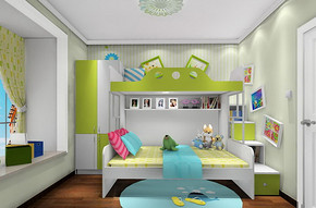 兒童房室內裝修效果圖