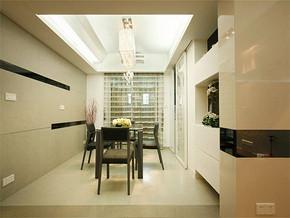 现代风格房屋餐厅装修效果图