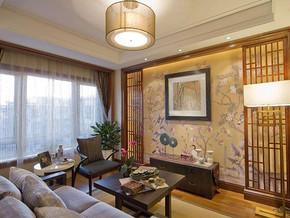 中式田園風格客廳裝修效果圖