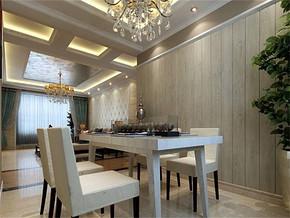 現代風格80平小戶型餐廳裝修圖