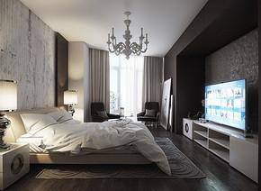 臥室裝修樣板間效果圖