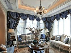 歐式風格客廳家具裝修效果圖