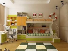 兒童小房間布置效果圖