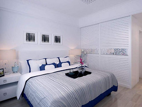 现代风格卧室衣柜装修设计效果图