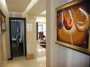 現代客廳過道裝修效果圖