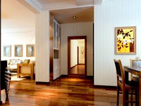 兩室一廳玄關裝修效果圖