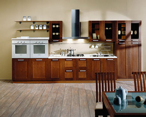 简欧厨房装修设计图