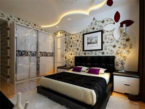 現代簡約16平米臥室裝修圖