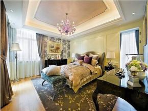 现代古典风格女孩子的房间布置