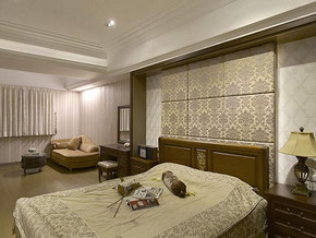 歐式臥室裝修設計效果圖