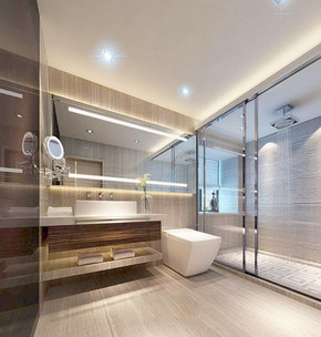 130平米厕所装修效果图