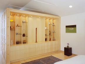 日式风格卧室壁橱装修效果图