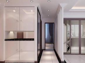 现代风格客厅玄关装修效果图